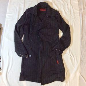Tripp NYC Pinstripe Coat size Large